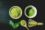 The anti-aging Matcha Green Tea is rich in chlorophyll