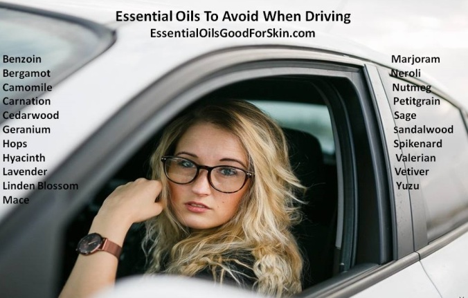 Essential Oils & Driving