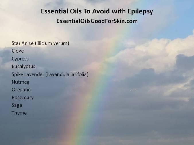 Essential Oils & Seizure Disorder or Epilepsy