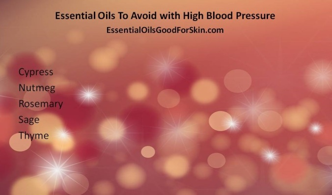 Essential Oils & High Blood Pressure