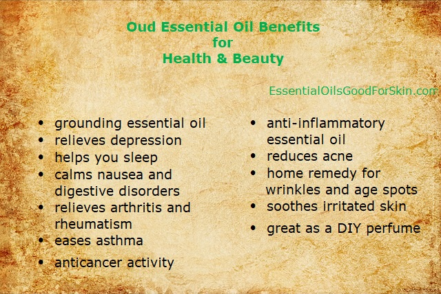 Oud Essential Oil Benefits